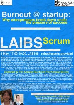 Burnout at startup - final version (5 May, 2015)